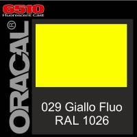 Giallo Fluo 029 Cast - Oracal 6510