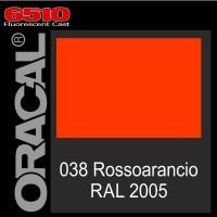 Rosso-rancio Fluo 038 Ral 2005 Cast - Oracal 6510