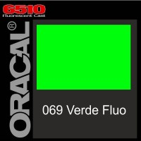 Verde Fluo 069 Cast - Oracal 6510