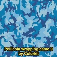 Camo 09 Azzurro (Wrapping)