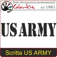 Scritta US ARMY