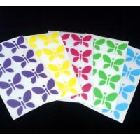 Farfalline foglio da 8 pezzi