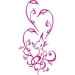 Gatto tattoo (Varie misure)