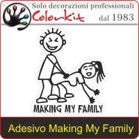 Adesivo Making My Family