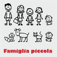 Adesivi famiglia piccoli