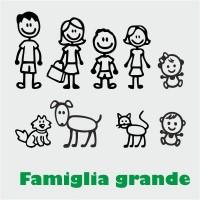 Adesivi famiglia grandi