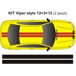 Kit strisce Mod Viper serie 12-3-12