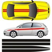 Kit strisce Mod Scuderia serie 12-3-12