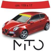 Fascia Parasole per Alfa Romeo MiTO