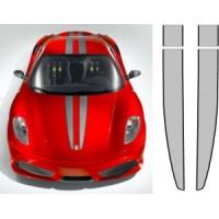 Strisce replica Ferrari 430 Scuderia