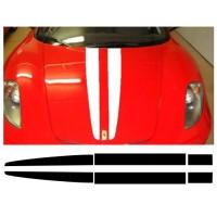 Strisce stile F430 Scuderia Monocolore
