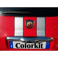 Strisce per Fiat 500 Tributo Ferrari