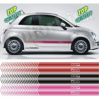 Fasce laterali Racing 09 per Fiat 500