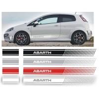 Strisce Laterali Super Sport per Fiat Grande Punto