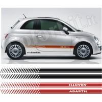 Fasce laterali per Fiat 500 ABARTH