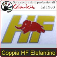 Elefantino Lancia Delta HF (coppia)