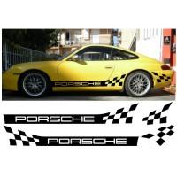 Livrea a scacchi per Porsche 911