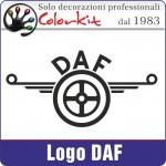 Logo DAF (varie misure)