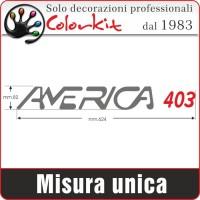Adesivo America 403