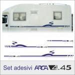 Set adesivi Arca 4.45