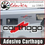 Adesivo Carthago (varie misure)