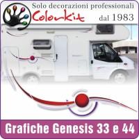 Adesivi Challenger Genesis 33-34