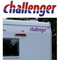 Adesivo Challenger per camper cm. 58,5x17