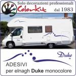 Adesivi elnagh Duke monocolore