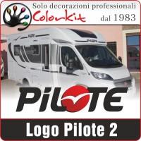 Adesivo Pilote 2 (varie misure)