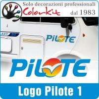 Adesivo Pilote 1 (varie misure)