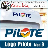 Adesivo Pilote 3 (varie misure)