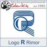 """Logo"""" R"""" Rimor (varie misure)"""