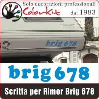Adesivo Brig 678