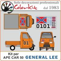 Kit Generale Lee per Ape car 50