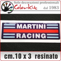 Martini Racing 3D cm.10x3