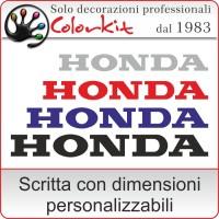 adesivo Honda (varie misure)