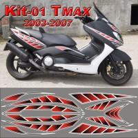 Tmax 2003-2007 Kit adesivi 01