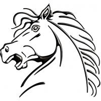 Cavallo 0229 cm 28x26 3D