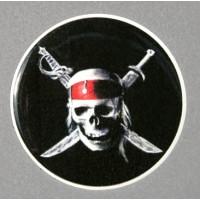Pirata 02 Tondo cm 5 3D