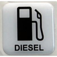 Etichetta Diesel 01 cm 4x4 3D