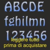 Lettere 3D Hobo