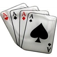 Poker d'Assi cm 5,5 3D