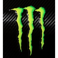 Monster resinato cm.7,5x10 3D