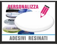 Personalizza adesivi resinati