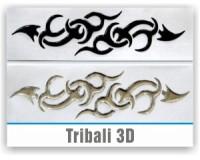 Tribali 3D resinati