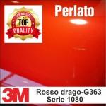 Rosso drago perlato lucido 3M 1080-G363
