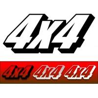 Adesivo 4x4 03